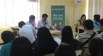 Mini Job Fair held in PESO Lingayen