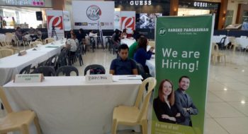 BP joins Job Fair in Robinson's Place Calasiao
